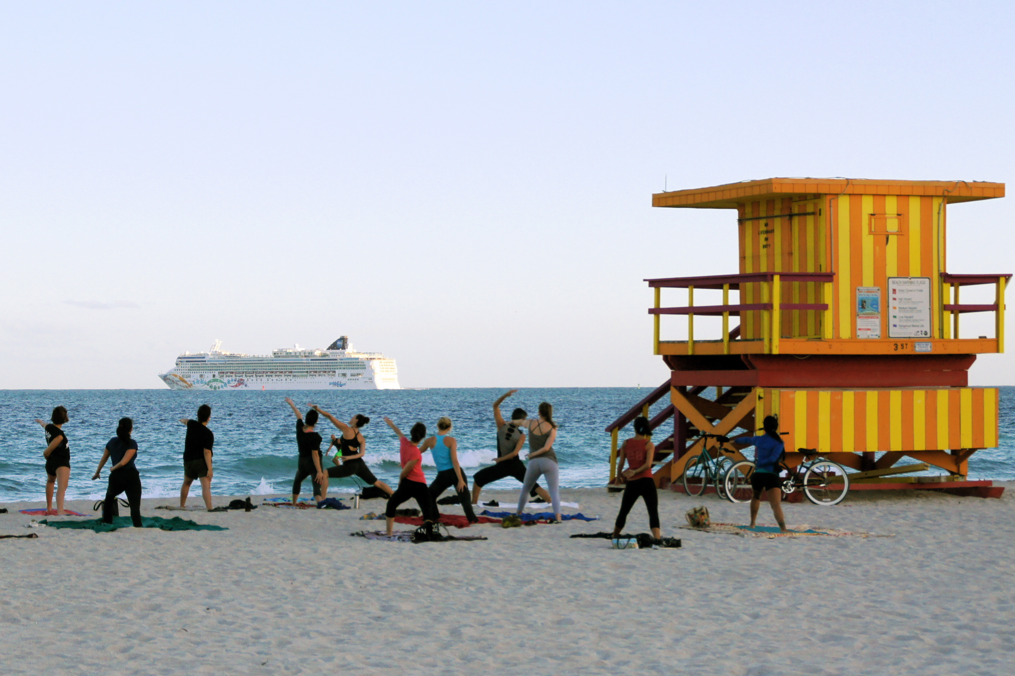 Yoga on The Beach South Beach Beach Yoga And a Cruise