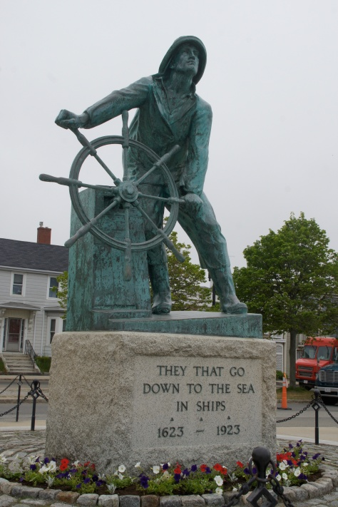Man at the Wheel, Gloucester, Massachusetts