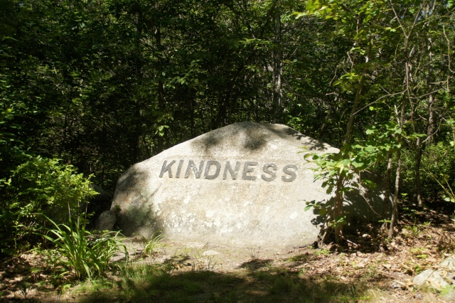 You'll find words of inspiration, eerie tales, and New England history on the Babson Boulder Trail on Cape Ann, Massachusetts