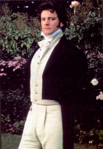 Colin Firth's portrayal of Mr. Darcy in the BBC miniseries, Pride and Prejudice, launched many fans interest in the works of Jane Austen.