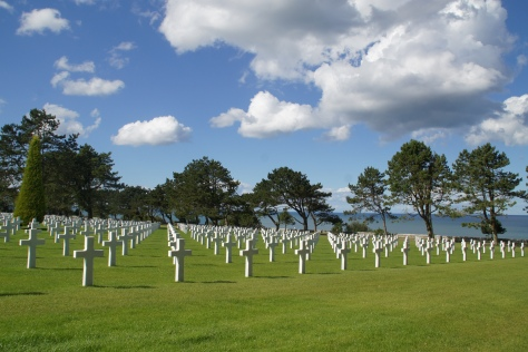 The American Cemetery, Normandy, France