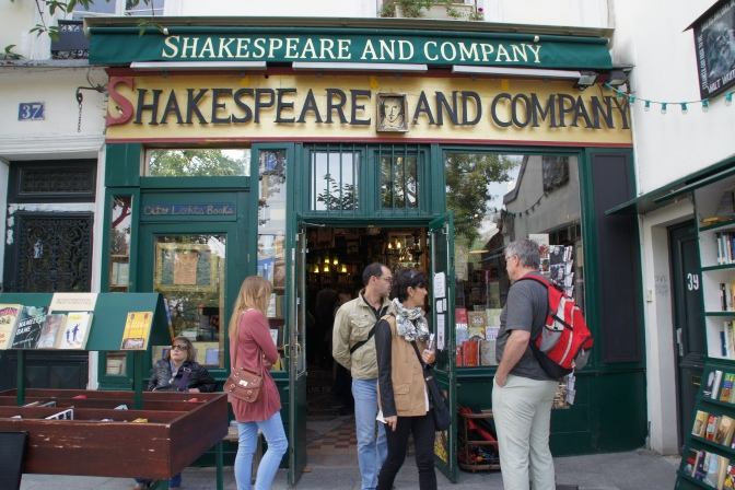 Stepping Into Literary History at Shakespeare and Company in Paris