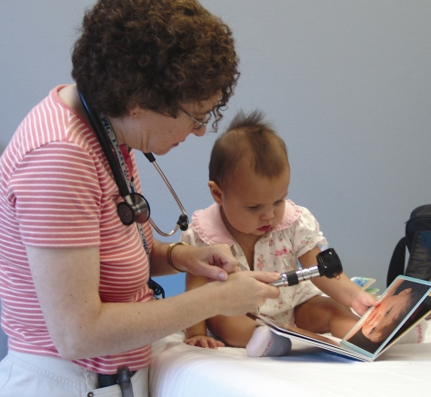 Hennepin County Medical Center's Children's Literacy program provides books and reading experiences when children visit the doctor.
