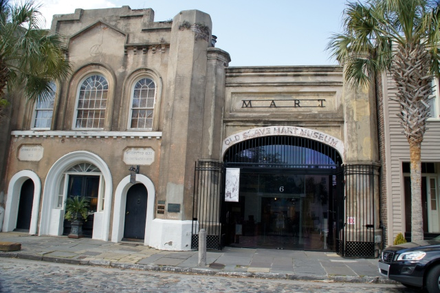 The Old Slave Mart in Charleston is the only known building used as a slave auction gallery in South Carolina still in existence