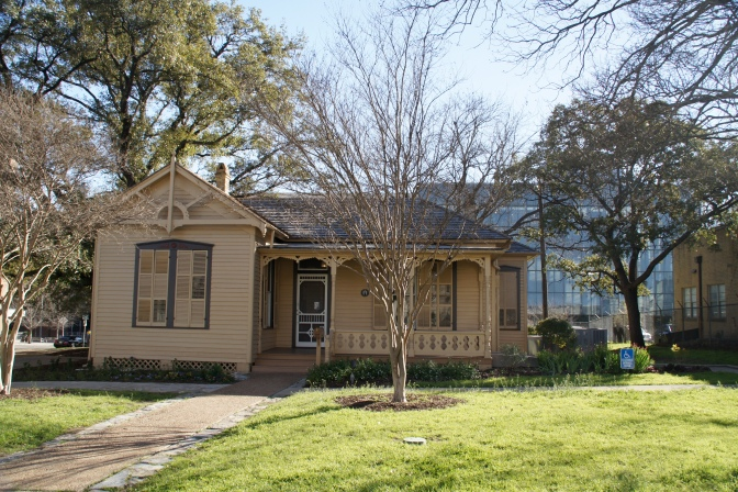 A Short Visit at O. Henry's Tiny House in Austin, Texas