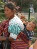 For Guatemalan babies, mom provides a reliable means of transportation.