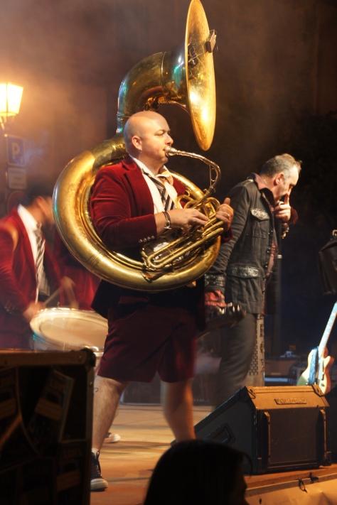 Rock Box Tuba Player, France