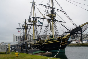 You can tour this tall ship at the Salem National Maritime Historic Site.