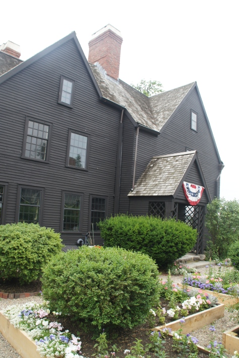 The mysterious House of Seven Gables in Salem, Massachusetts