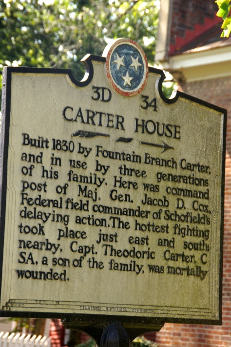 Carter House, Franklin TN