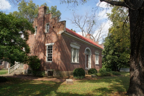 At first glance, visitors to the lovely Carter House in Franklin, Tennessee  would never guess that it was the scene of one of the Civil War's bloodiest battles.