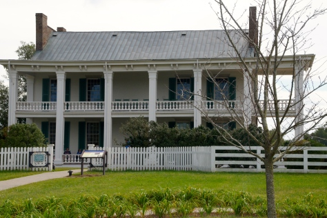 Carnton Plantation in Franklin, Tennessee, is the setting of Robert Hicks's novel, The Widow of the South.
