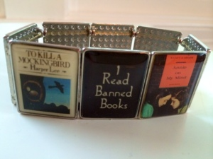My Banned Books bracelet.