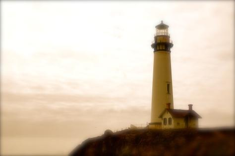 Pigeon Point Lighthouse, near Half Moon Bay, California