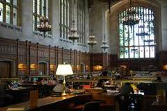 University of Michigan Law School's beloved Reading Room