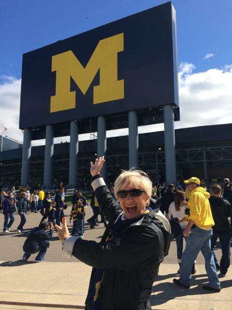 "University of Michigan Stadium, ""the Big House"" in Ann Arbor"