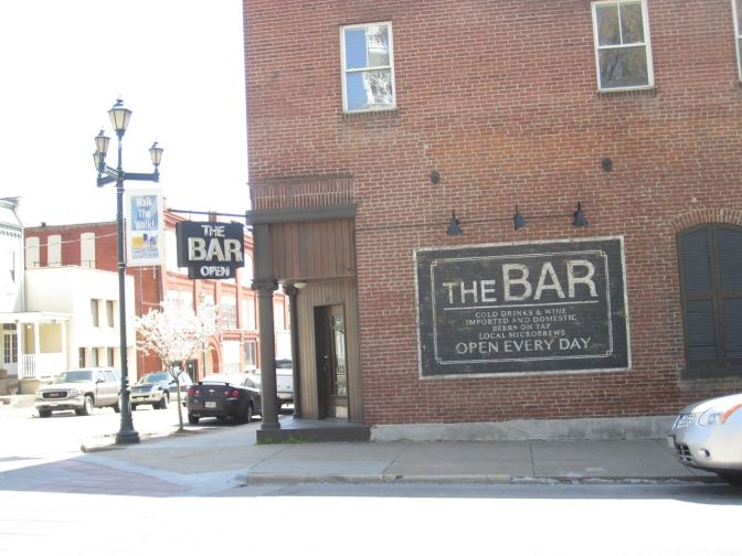 "The Bar from the movie ""Gone Girl."""