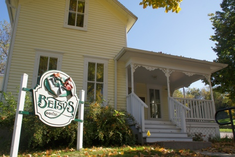 Betsy's House, the real-life home of Maud Hart Lovelace in Mankato, Minnesota