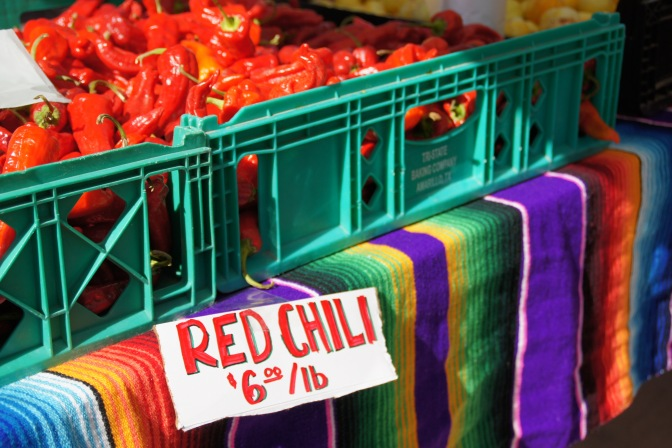 New Mexico Chilis:  Know Your Boundaries