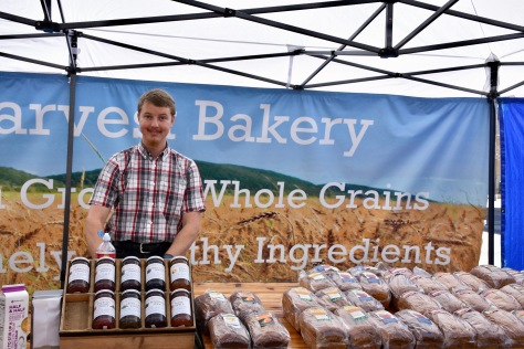 baked goods vendor at Las Cruces Farmers Market www.offthebeatenpagetravel.com