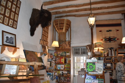 inside Mesilla Book Center www.offthebeatenpagetravel.com