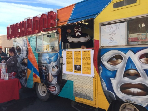 Luchador Food Truck at Las Cruces Farmers Market www.offthebeatenpagetravel.com