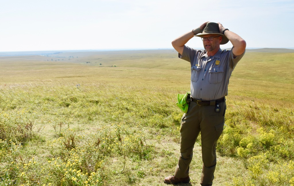 naturalist at Tallgrass Prairie National Preserve
