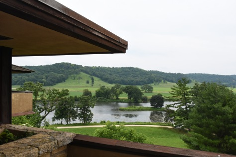 a view of the Wisconsin countryside at Taliesin